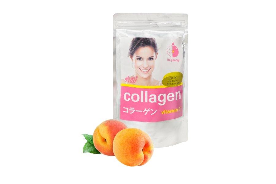 Коллаген желе (персик) + Витамин С